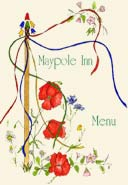 Front cover of Maypole Inn menu